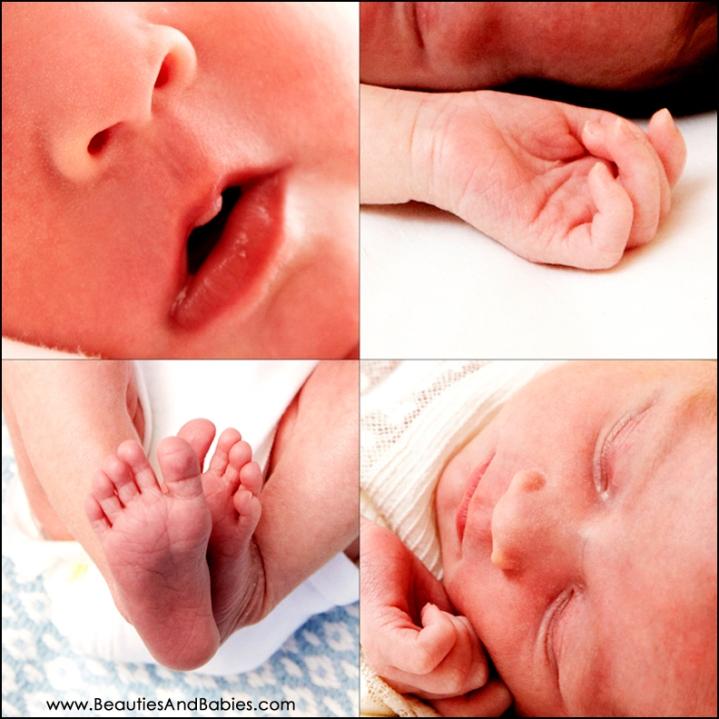 Newborn Baby Body Parts