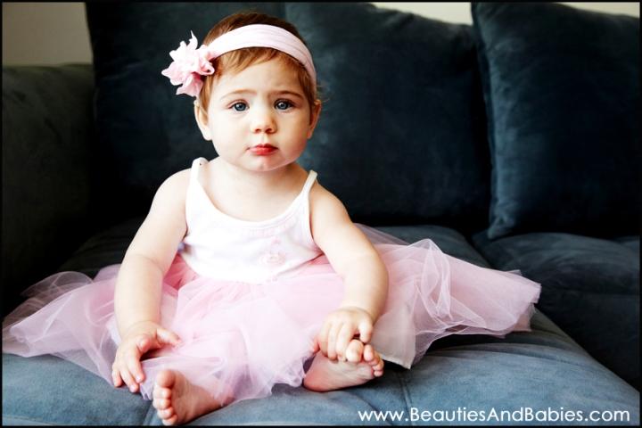 baby tutu portrait