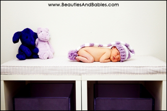 Los Angeles newborn baby photography