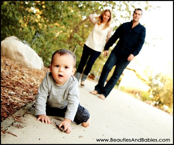 family portrait on-location outdoors Los Angeles
