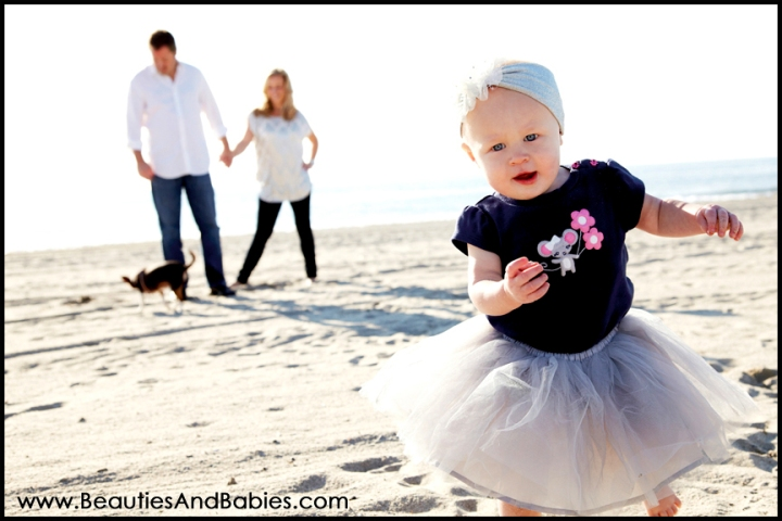 Los Angeles child photography beach