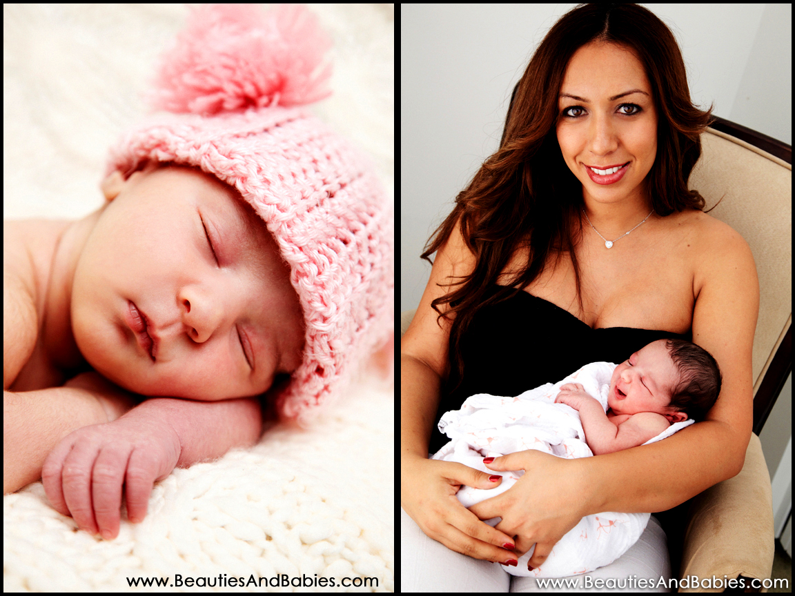 Los Angeles newborn baby portrait photography