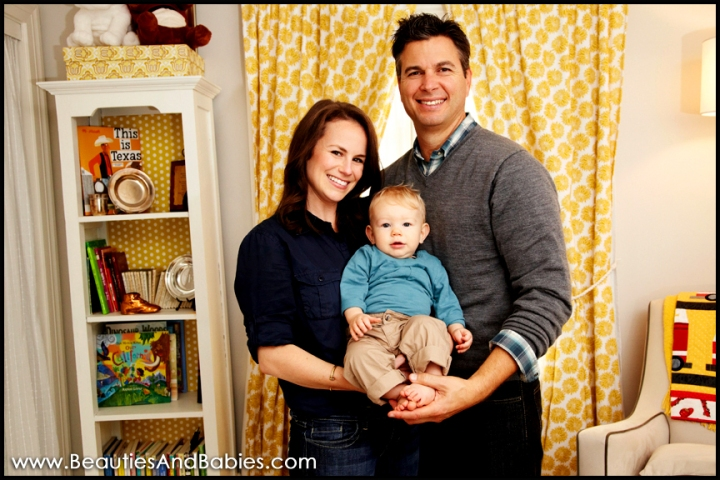 family portrait photography in nursery Los Angeles photographer