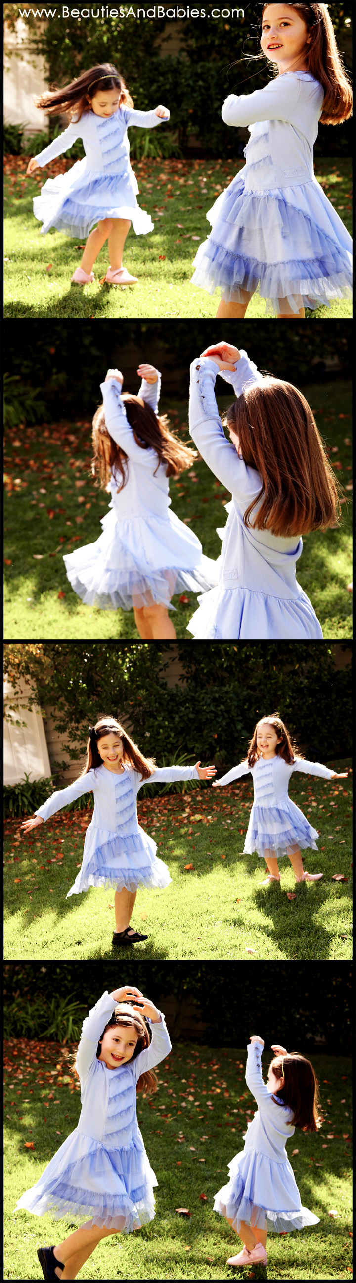 sisters portraits Los Angeles child photography