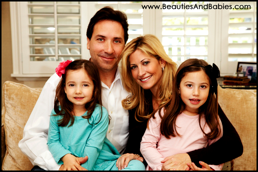 professional family portrait photography in home Los Angeles