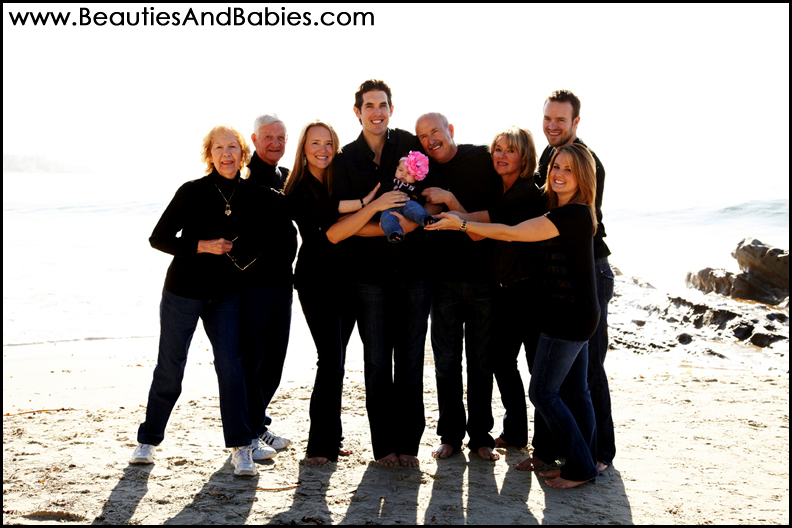 Los Angeles professional family portrait photography