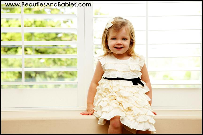 Los Angeles little girl portrait photographer
