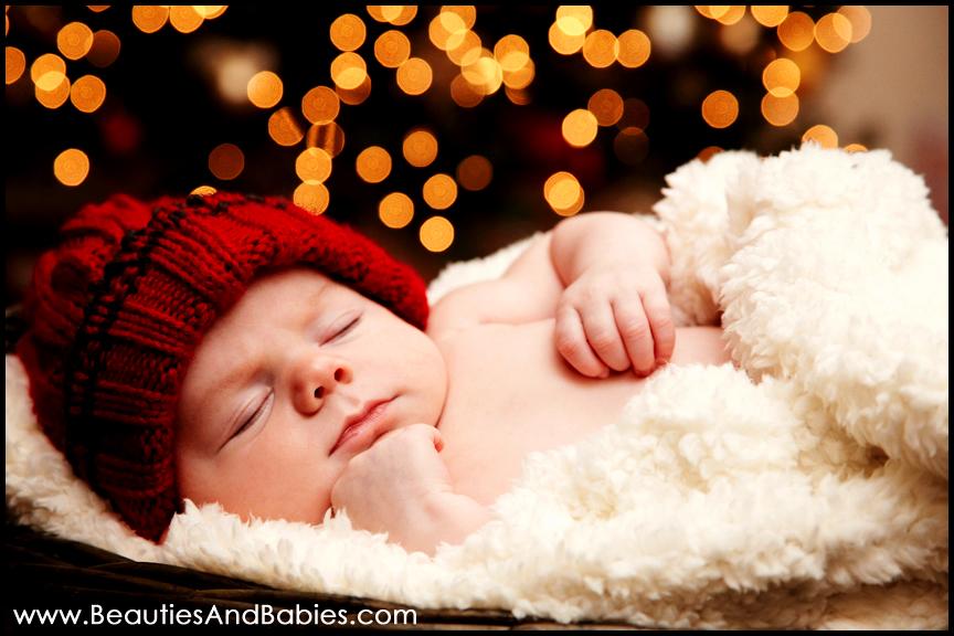 Los Angeles sleeping baby portrait photographer