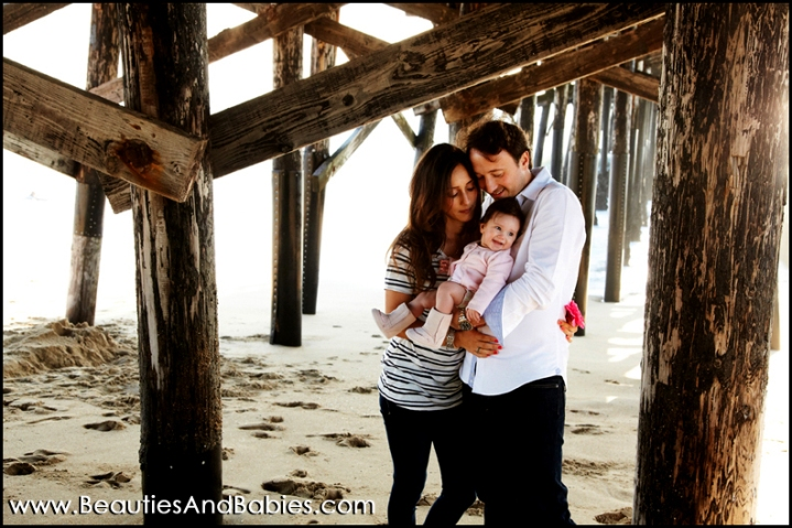 professional family portraits on the beach Los Angeles