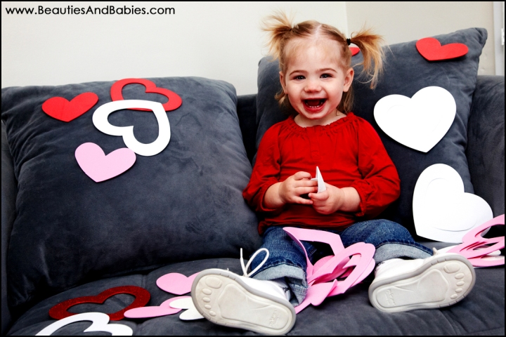 professional baby pictures Los Angeles photographer Valentines Day