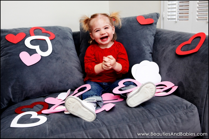 professional baby pictures Valentine's Day Los Angeles photographer