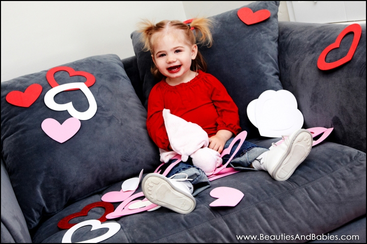 professional baby Valentine's Day pictures Los Angeles photographer