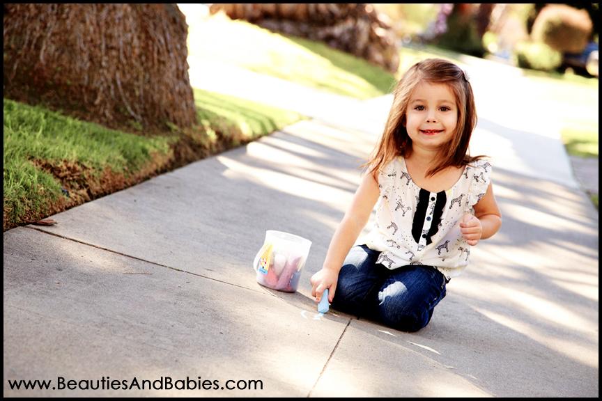 Los Angeles child portrait photography