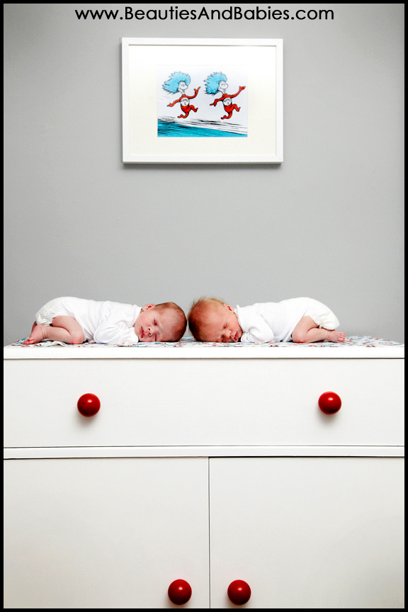 professional twins photographer newborn babies
