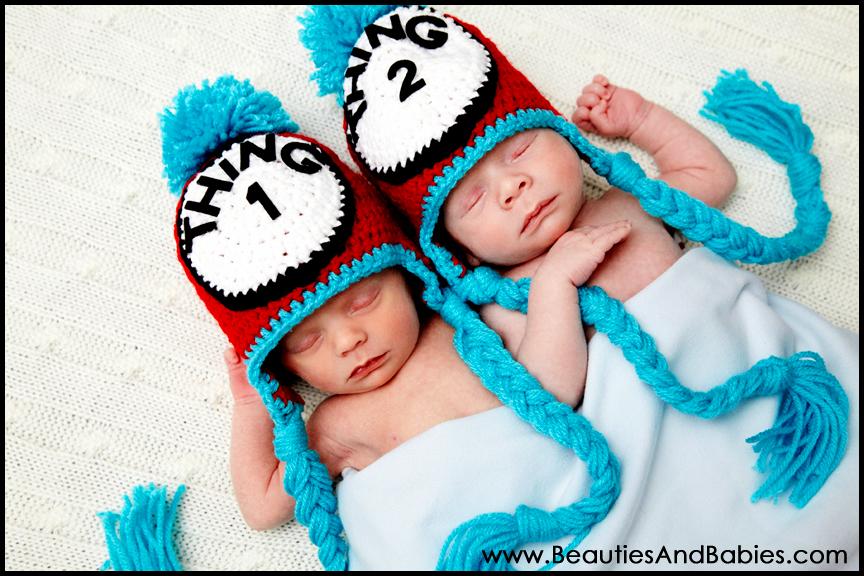newborn twin babies photographer Los Angeles