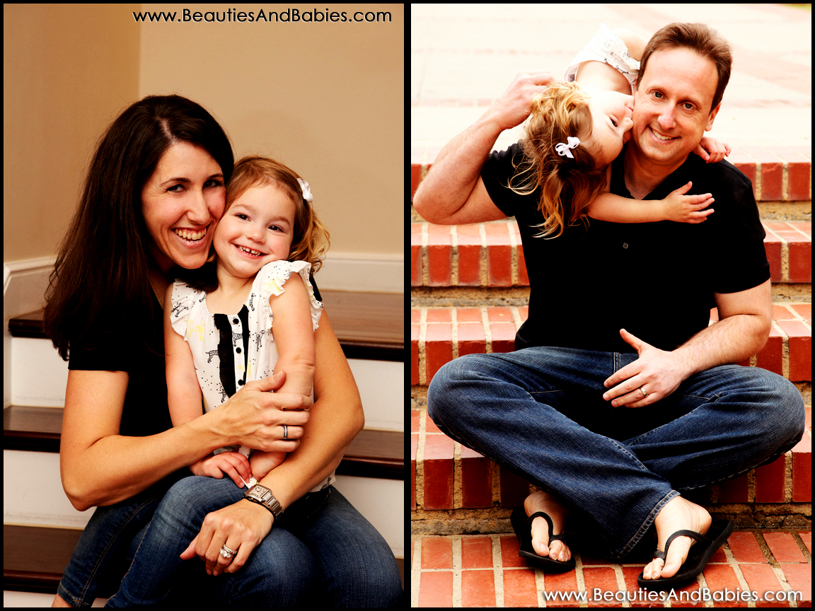 Los Angeles parent and child photography
