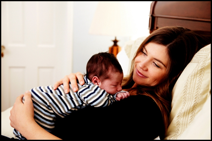 mother son newborn baby pictures Los Angeles photography