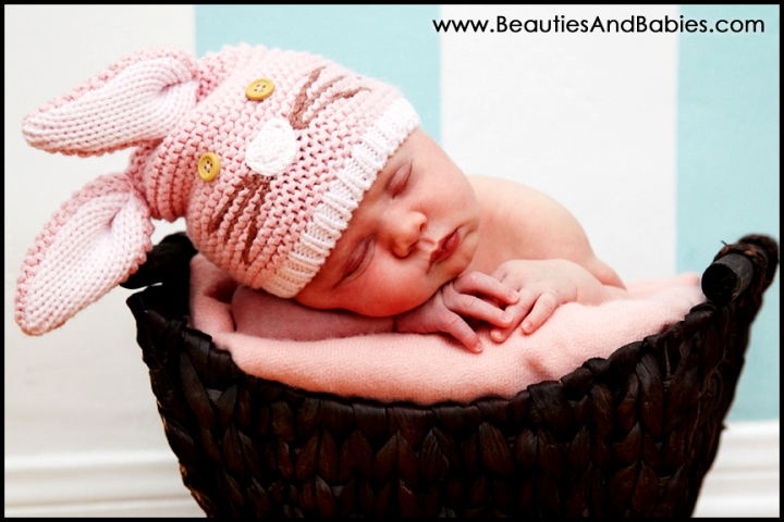 easter newborn baby pictures Los Angeles photography