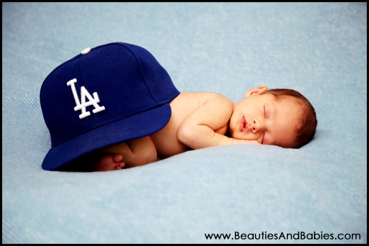 newborn baby professional photography creative props Los Angeles