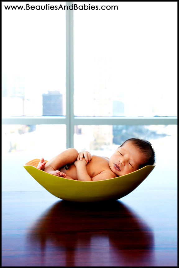 sleeping newborn professional baby photography Los Angeles