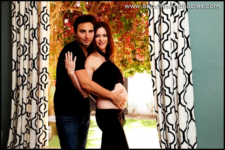 Los Angeles professional maternity photography studio