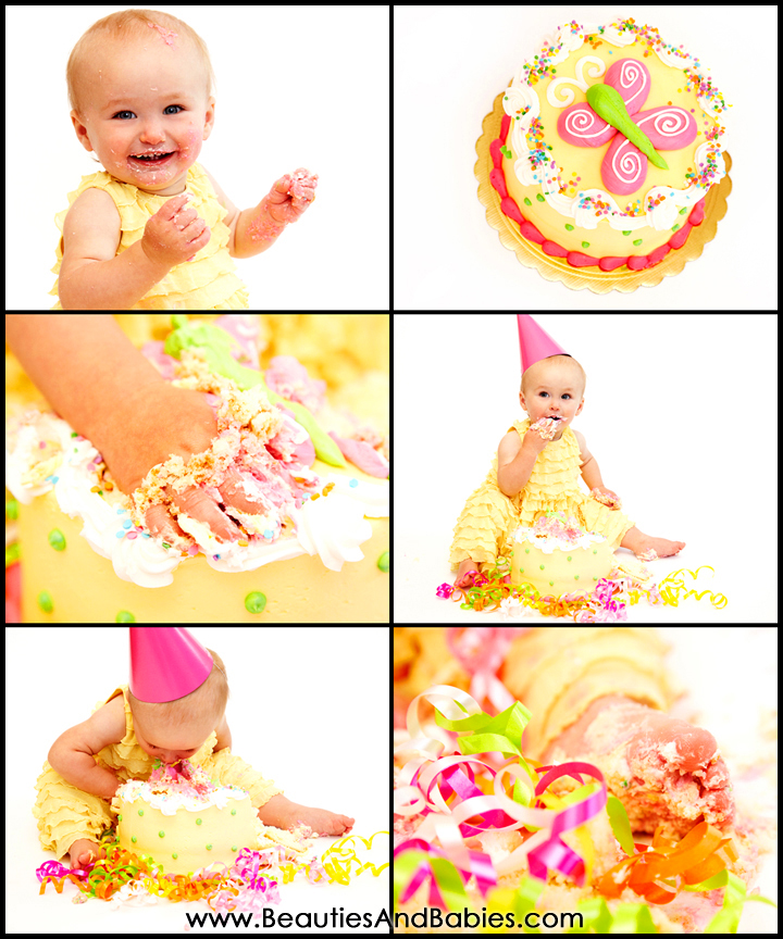 cake smash photography Los Angeles photographer