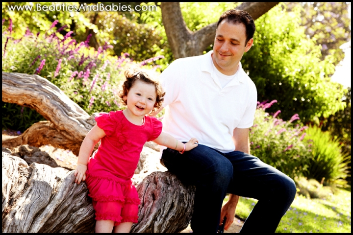 father daughter professional pictures Los Angeles photography studio