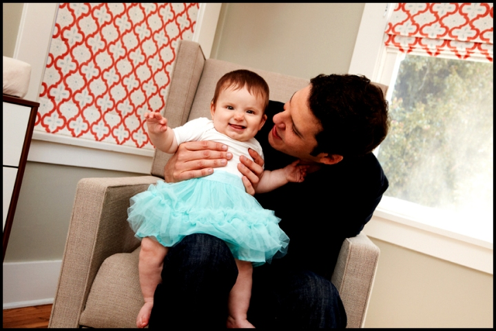 father daughter professional family pictures Los Angeles baby photographer