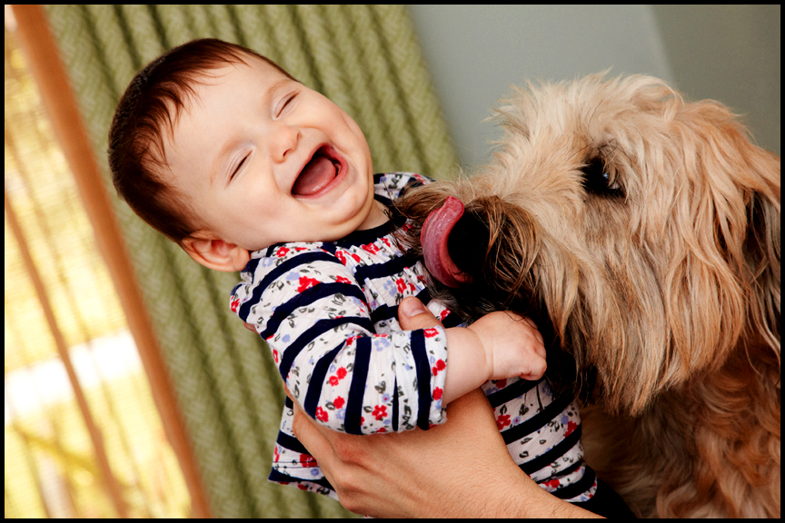 laughing baby pictures Los Angeles professional photographer