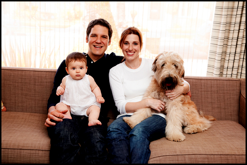 professional family portrait photography Los Angeles at home photographer