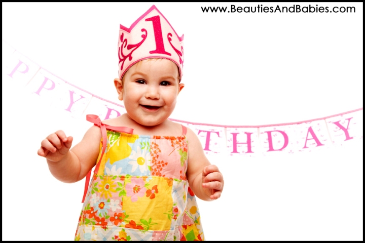 Los Angeles baby first birthday photography professional