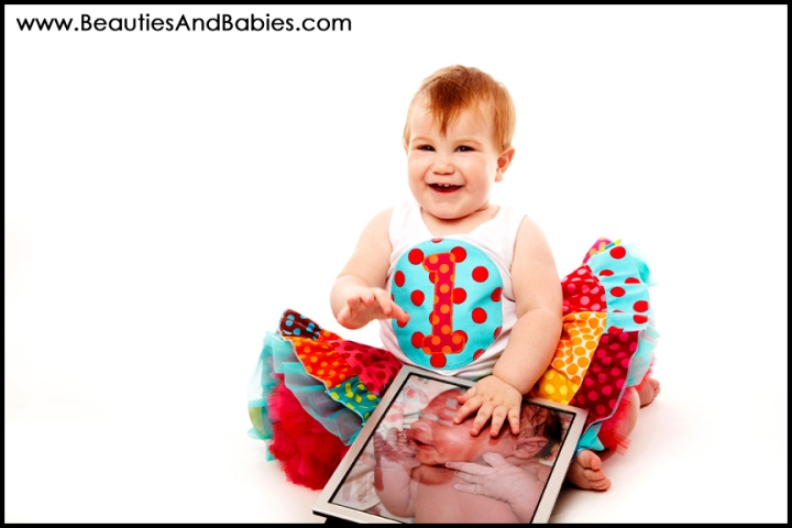 professional baby birthday photography Los Angeles photo studio
