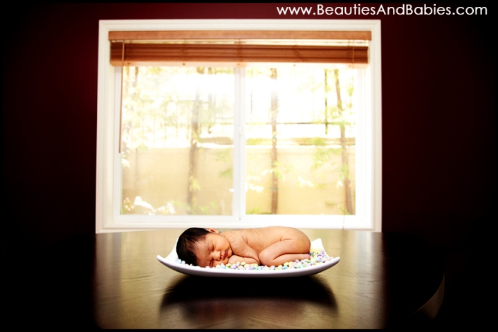 newborn baby sleep pictures Los Angeles photographer