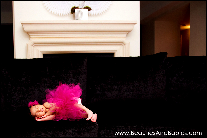 in home newborn baby photographer Los Angeles