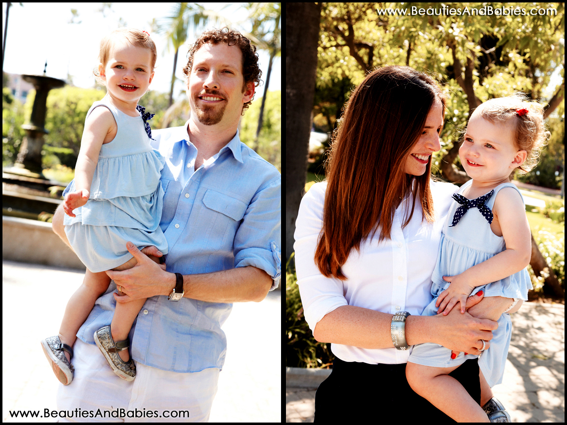 professional family photos Los Angeles outdoor photography