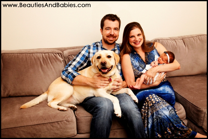 professional family pictures Los Angeles newborn baby photography