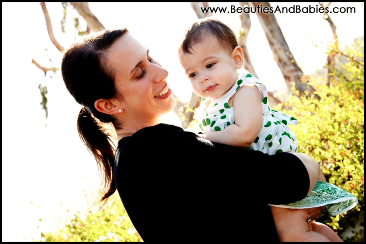 mother daughter professional pictures Los Angeles baby photographer