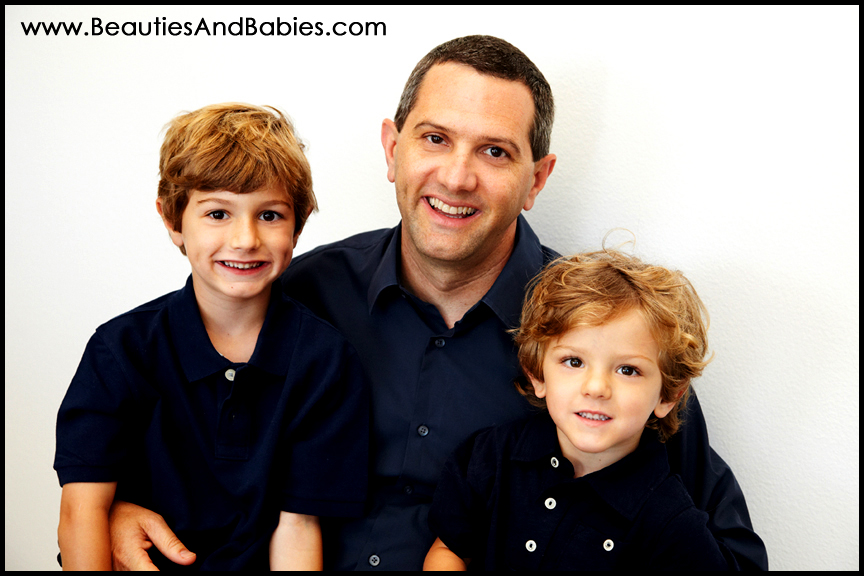 professional pictures of father and sons Los Angeles photographer