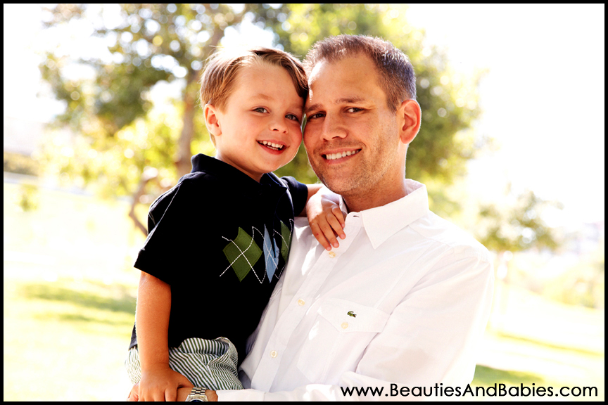 father son professional pictures Los Angeles photography studio