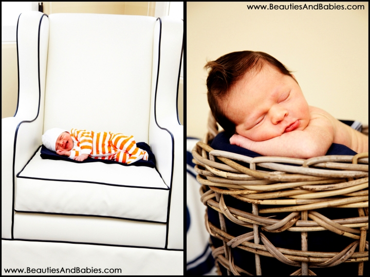 at home professional newborn baby photography Los Angeles
