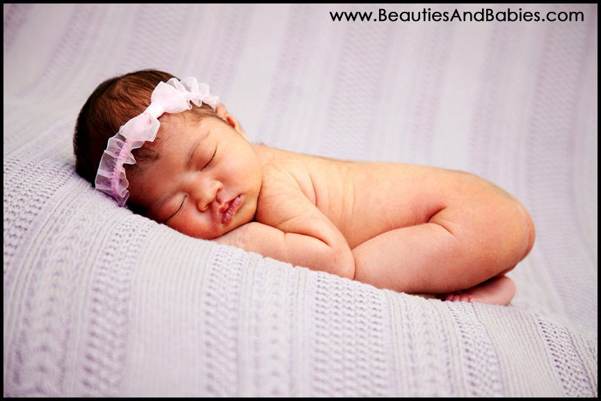 newborn baby girl professional pictures Los Angeles photography