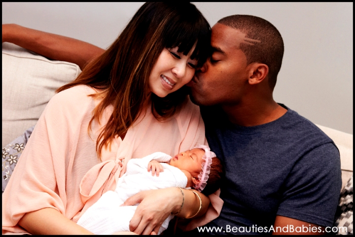 newborn baby family photography Los Angeles photographer