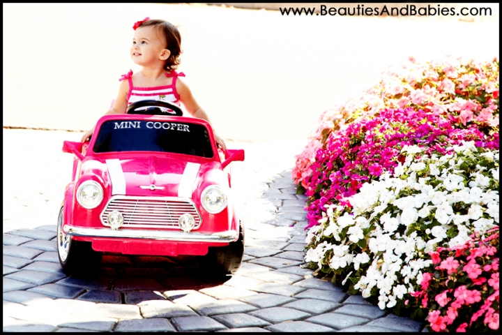 Los Angeles outdoor toddler and child photography