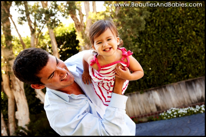 father daughter outdoor family photography Los Angeles