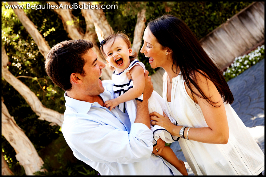 Los Angeles family portrait photography outdoors