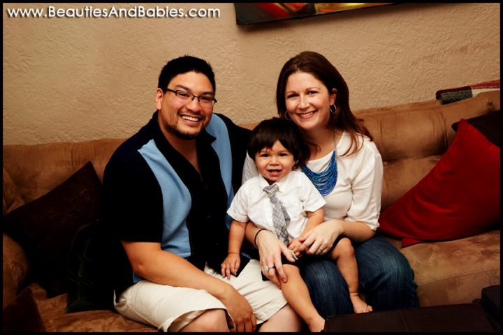 top los angeles family photography at home