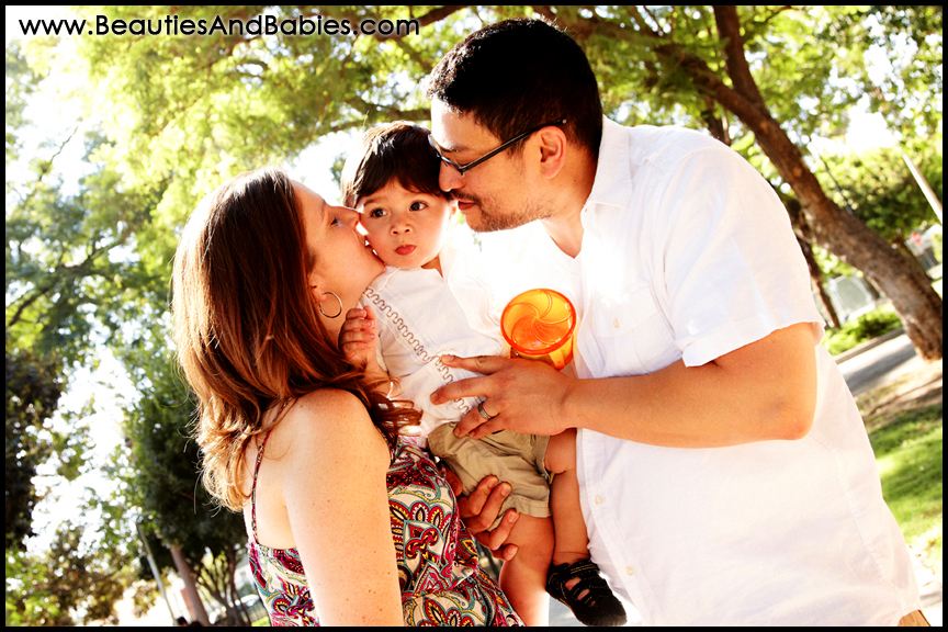professional outdoor family photography Los Angeles