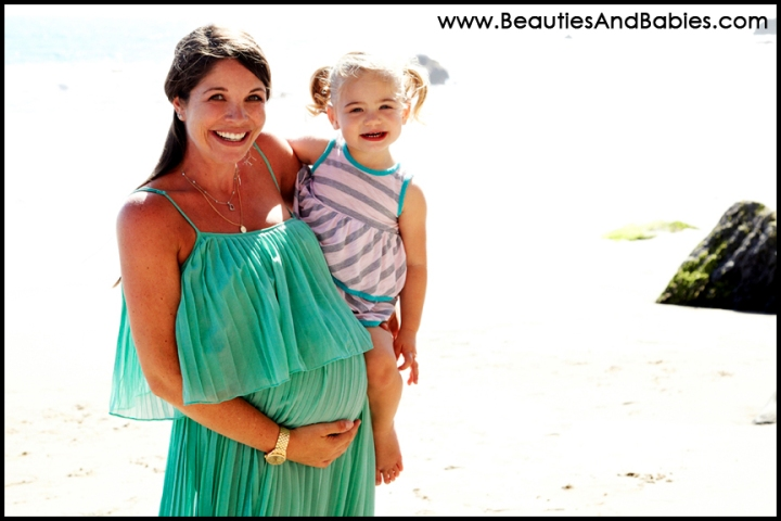 best LA beach maternity photography