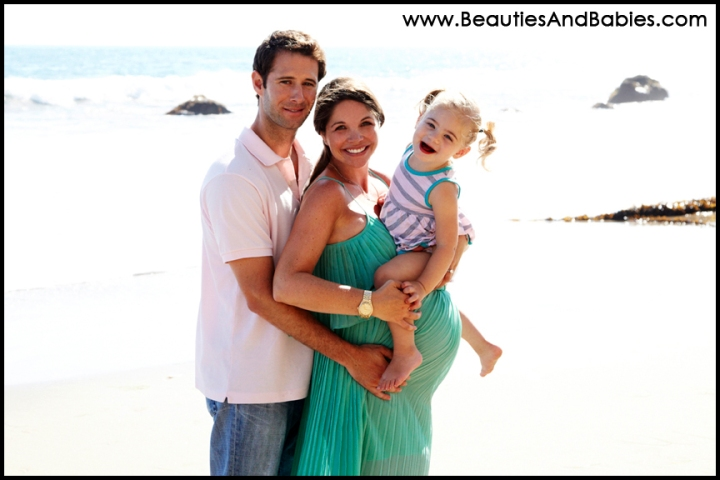 professional family pictures on the beach Malibu photography