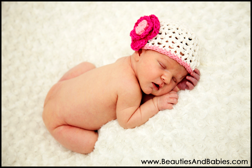 Newborn baby girl professional pictures los angeles photographer